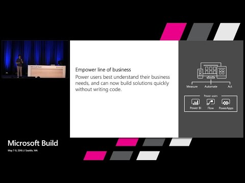 Automating business processes and approvals with Microsoft Flow : Build 2018