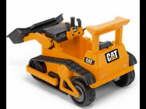 kid trax cat bulldozer 12 volt battery powered ride on toy