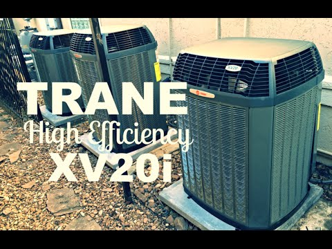 Trane Xv20i 20 Seer Hvac Review Youtube