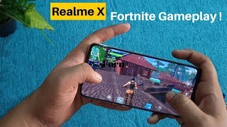 Realme X Fortnite Gameplay In Hindi 4GB Varient | Not So Bad ?