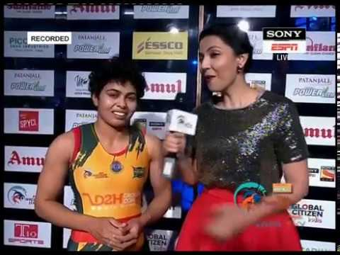 Pro Wrestling League 2017: Pooja Dhanda's Interview 12th Jan 2017