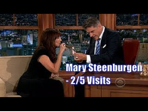 Mary Steenburgen Smokes Craig's Cigar 2/5 Visits In Chronological Order