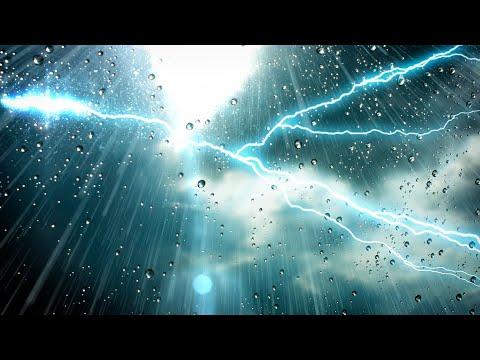 Thunder and Rain Sleep Sounds White Noise | Fall Asleep & Stay Sleeping with Nature Audio | 10 Hours