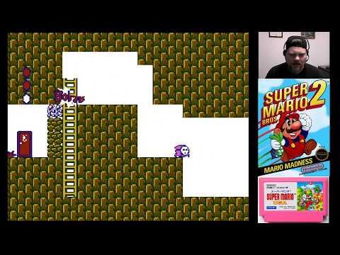 Super Mario Bros. 2 | VGHI Play 'n' Chat Live Stream