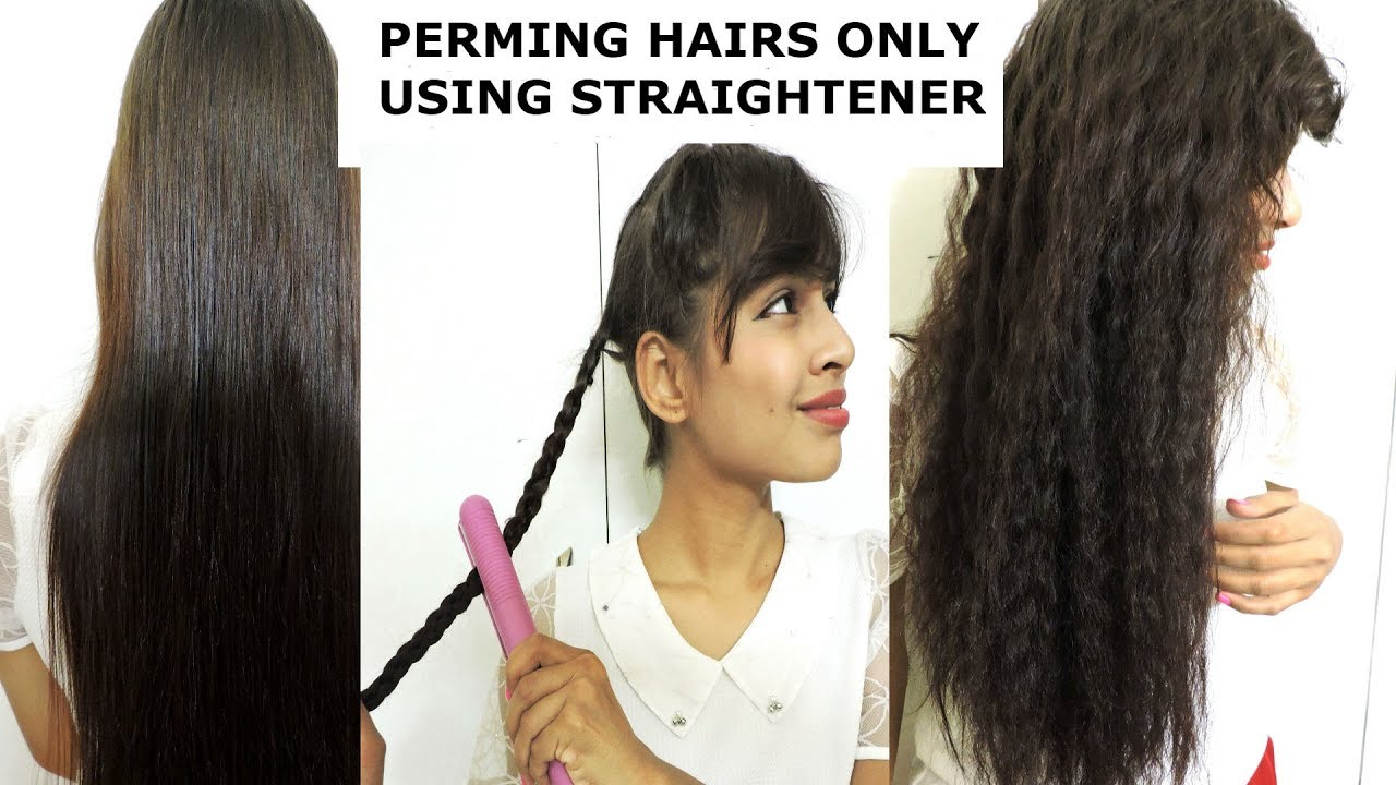 Diy perm yours hairs at home only using straightener awesome hair diy perm yours hairs at home only using straightener awesome hair hacks solutioingenieria Choice Image
