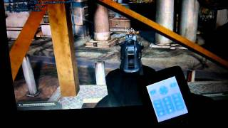 Battlefield 2 Gameplay controller with mobile phone