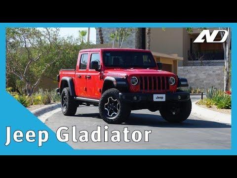 Jeep Gladiator - ¿La mejor pick-up del mercado? - Primer Vistazo