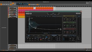 Bitwig - Looking at Sonic Academy Kick 2