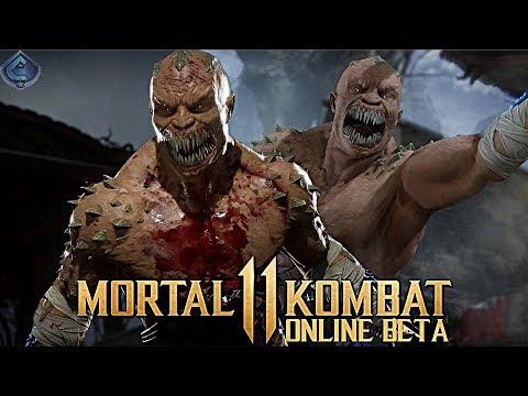 Mortal Kombat 11 Online Beta - 470 DAMAGE TRIPLE KRUSHING BLOW COMBO!