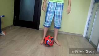 Обучение футболу в домашних условиях#1 (начинающие Упражнение)