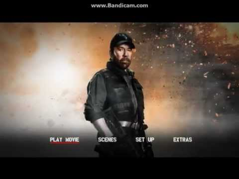 The Expendables 2 (2012) DVD Menu