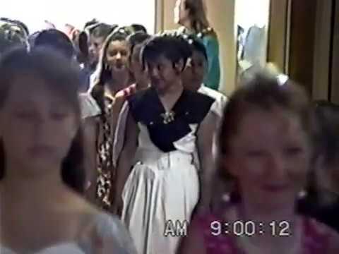 Santa Barbara's La Cumbre Junior High School 6th Grade Graduation and Band Concert Jun17 1993