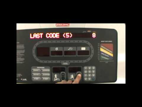 Star Trac: Determining DFR Codes For Check Speed System/Check Motor System