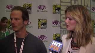 Peter Berg And Brooklyn Decker Talk 'Battleship' At WonderCon 2012