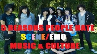 5 Reasons People Hate SCENE/EMO Music & Culture