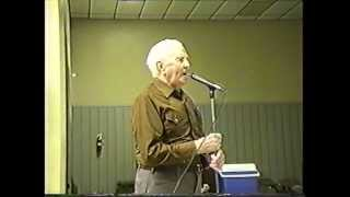 Jam Session and Dance at Wien, MO (clip #20) Old Time Dance by 92 y/o Caller, Mike Rodgers