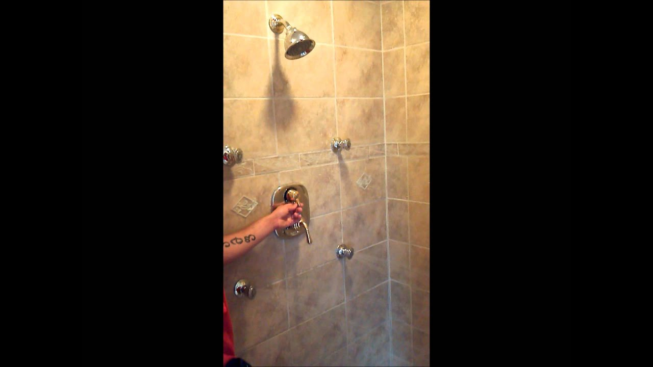 Holy Street Shower head and body jets, St. Simon\'s Island Ga ...