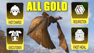 Using ALL Gold Items in the Dragon Update (Apex Legends)