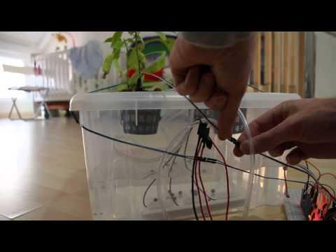 sistema hidropnico con arduino