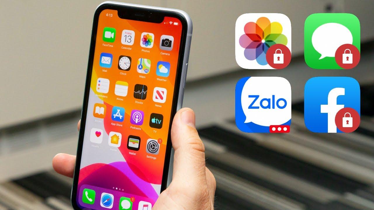 Khoá App Bất Kỳ Trên iPhone Bằng Mật Khẩu Riêng [Không Cần Jailbreak]