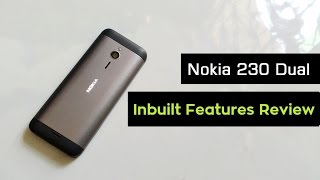 Nokia 230 Dual Sim Unboxing | Hands on & Inbuilt Mobile Features Review | Part - 1 | 2016(Hi here the all new nokia cum microsoft's nokia 230 dual sim review dark silver new model 2.8 inch screen latest keypad mobile was launched in india 2015 ..., 2016-01-07T16:10:10.000Z)