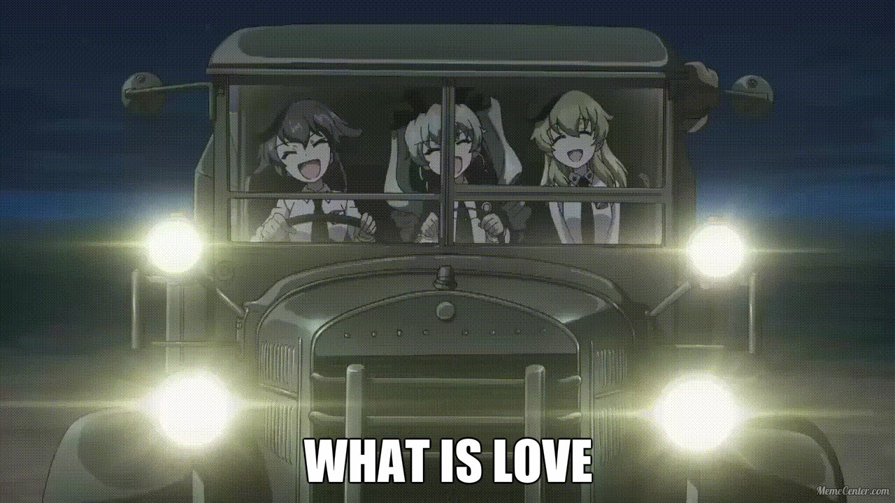 maxresdefault girls und panzer what is love youtube