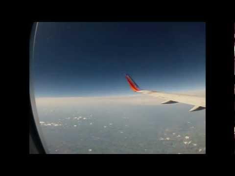 St Louis to Minneapolis Flight Timelapse