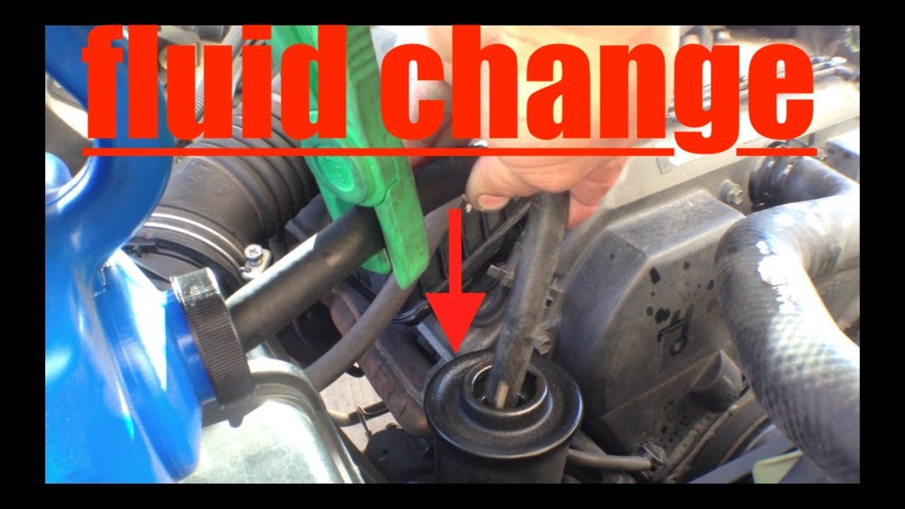 1992 Toyota 4runner Cooling System Simple Power Steering Flush Fix It Angel Youtube