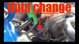 SIMPLE Power Steering Flush Toyota 4Runner √ Fix it Angel