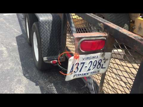 Dangerous Trailers.Org Presents A County Hired Sub Contractor With Defective Equipment