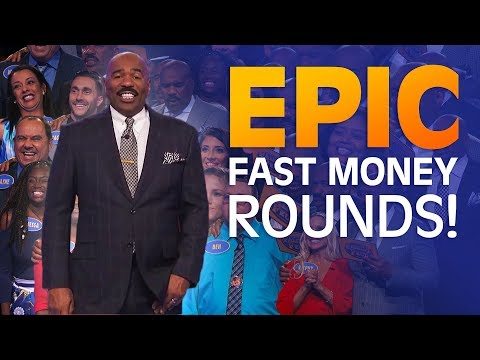 2018's MOST INCREDIBLE FAST MONEY ROUNDS | Family Feud