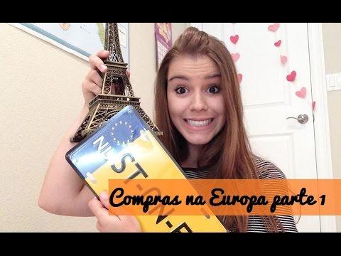 Compras de  Souvenir e Chocolates na Europa | Cabide Colorido