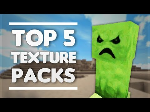 TOP 5 AMAZING TEXTURE PACKS FOR MINECRAFT PE
