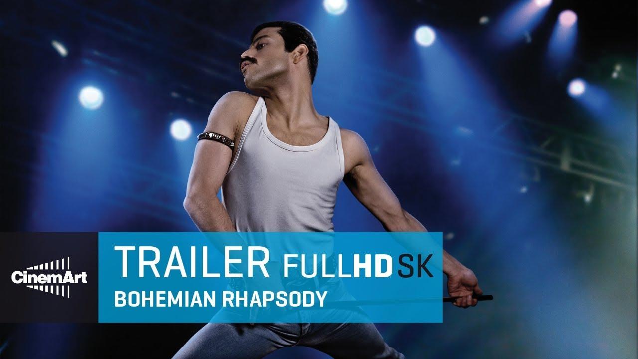 Bohemian Rhapsody (2018) oficiálny HD trailer #1 [SK TIT]