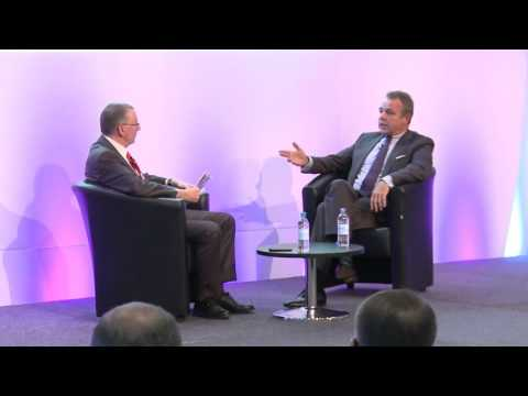 Keynote Interview Christoph Mueller, CEO Malaysia Airlines at WTM 2015