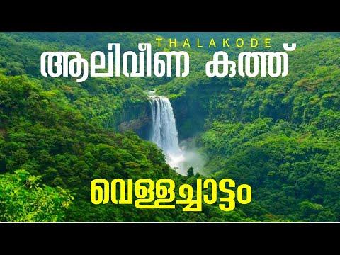 Waterfalls Aaliveenakuthu Thalakode Kothamangalam