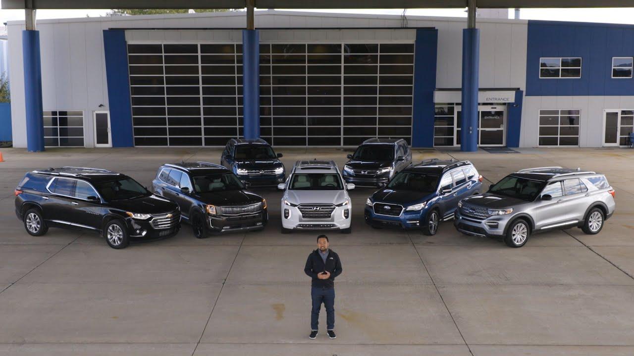 Reto de SUV de tres hileras 2020 - Cars.com + vídeo