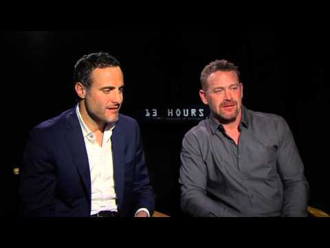 13 Hours: Max Martini & Dominic Fumusa Exclusive Interview