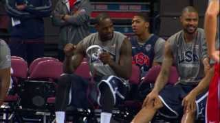 2012 USA Basketball Bloopers!