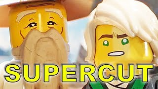 The Lego Ninjago Movie SUPERCUT All Trailers & Clips (2017)
