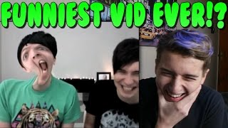 Dan and Phil PHOTO BOOTH CHALLENGE Reaction