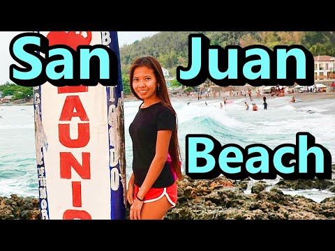 Philippines San Juan Beach (Luzon RoadTrip) WanderLusting