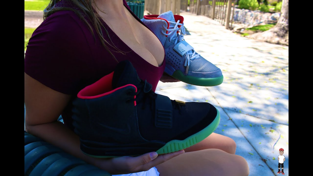 fbfb91f3d155b4 Authentic Air Yeezy 2 vs Replica Air Yeezy 2 (MUST WATCH) - YouTube