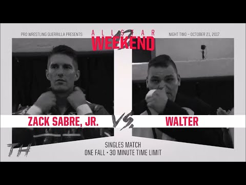 Zack Sabre Jr vs WALTER Highlights HD PWG All Star Weekend 13 Night Two