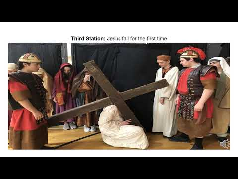 Saint Dominic Academy Maine 2021 Stations of the Cross