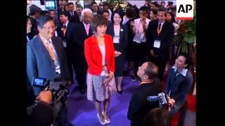Ubolratana Rajakanya visits Hong Kong film market