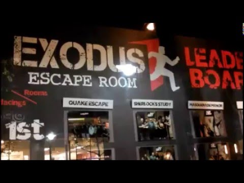 Exodus Escape Room Rancho Cucamonga California Puzzle Challenge
