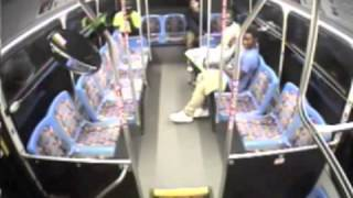 Durham police release video showing three males and an explosion Tuesday, July 23, 2014, on a Bull City Connector bus, asking for help identifying the three suspects.