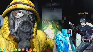 """THIS MAP ROCKS! """"Call of Duty Zombies"""" LAVENDER TOWN Custom Map"""