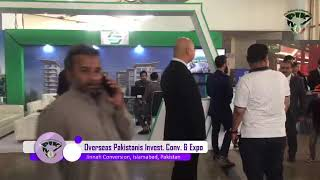 Overseas Pakistanis investment convention and expo stalls Live video